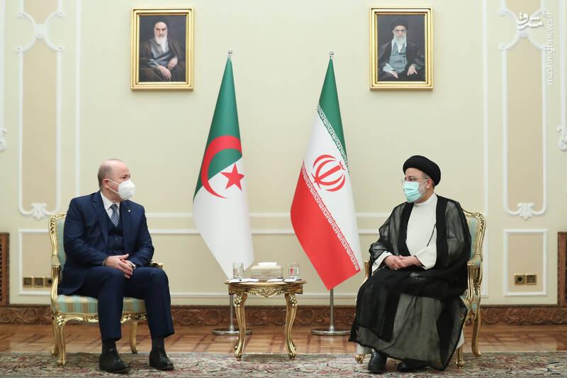 دیدار نخست وزیر الجزایر با رئیسی