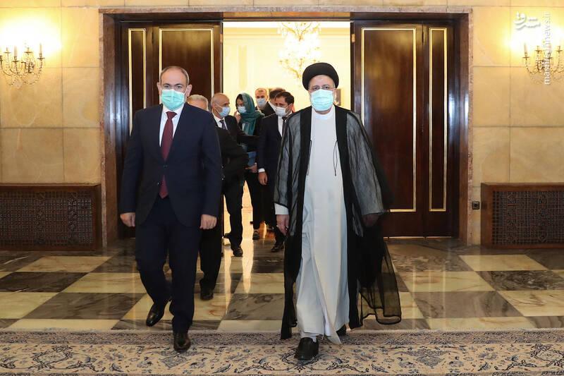 دیدار نخست وزیر ارمنستان با رئیسی