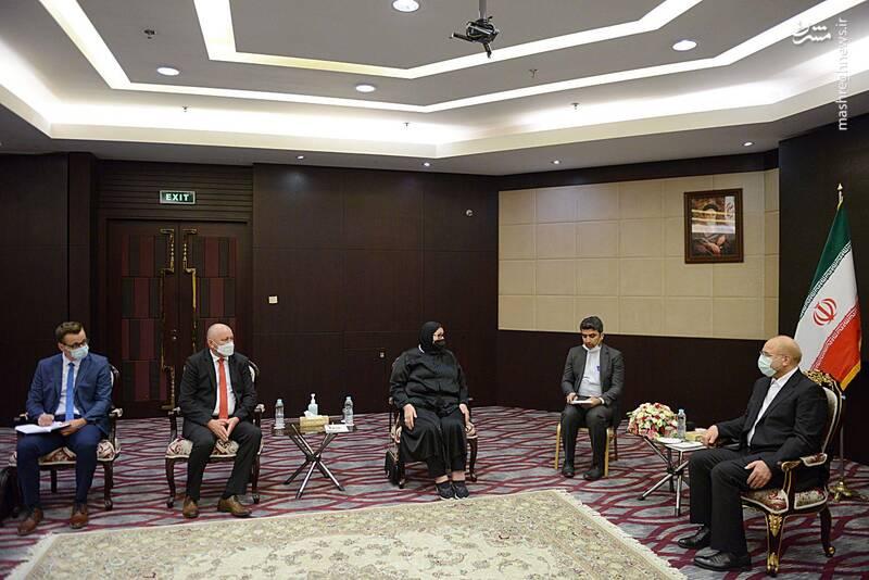 دیدار وزیر خارجه بوسنی و هرزگوئین با قالیباف