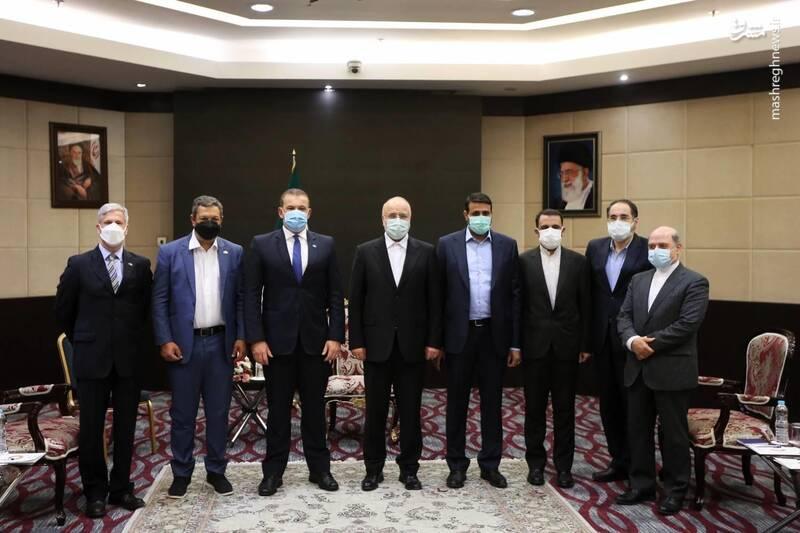 دیدار رئیس گروه دوستی ایران و برزیل با قالیباف
