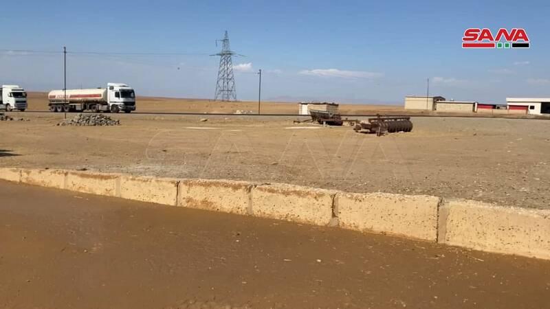 آمریکا ۲۵ تانکر نفت از سوریه به عراق قاچاق کرد +عکس