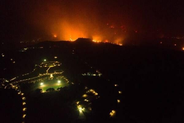 گسترش آتشسوزیها در یونان و ترکیه +عکس و فیلم