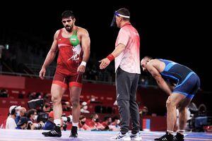 پایان زودهنگام المپیک برای محمدیان