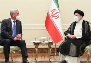 رئیسی در دیدار رئیس مجلس بلاروس: در روابط دو کشور باید تحول ایجاد شود