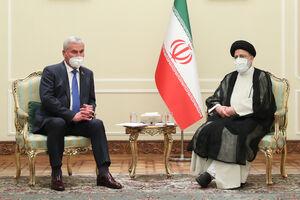 عکس/ دیدار رییس مجلس نمایندگان بلاروس با رئیسی