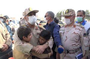 کودکان پناهنده افغانستانی در آغوش سردار رضایی