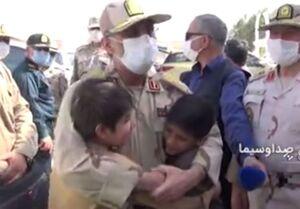 فیلم/ کودکان آواره افغانستانی در آغوش امن سردار ایرانی
