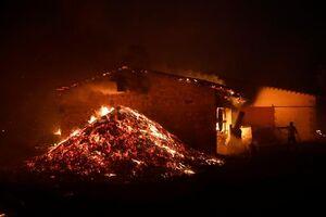 فیلم/ پایتخت یونان آتش گرفت