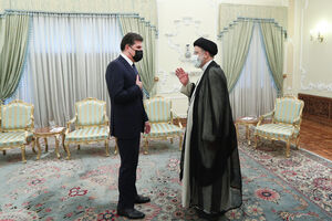 عکس/ دیدار رئیس اقلیم کردستان عراق با رئیسی