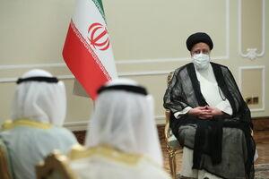 عکس/ دیدار وزیر امور خارجه کویت با رئیسی