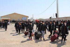 فیلم/ سرازیر شدن مهاجران افغانستانی به سمت ایران