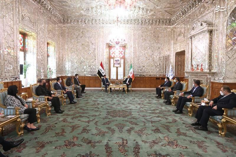 دیدار رئیس اقلیم کردستان عراق با قالیباف