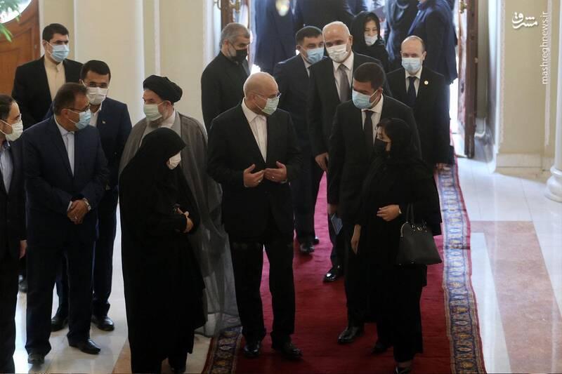 دیدار رئیس مجلس آذربایجان با قالیباف