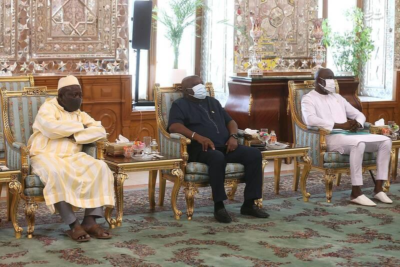 دیدار رئیس مجلس گینه بیسائو با قالیباف