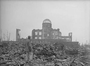 فیلم/ نخستین بمب اتمی جهان بر سر هیروشیما