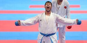 مدال تاریخی کاراته برای گنجزاده قطعی شد