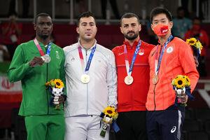 واکنش جالب ورزشکار سعودی بعد از باخت مقابل گنج زاده