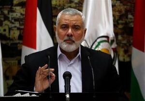 هنیه: مقاومت فلسطین در کنار ایران است