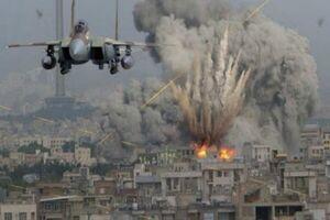 حمله هوایی ائتلاف متجاوز سعودی به مناطق مرزی یمن