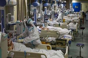 استان تهران سراسر قرمز است/۹۴۰۰ بیمار بستری هستند