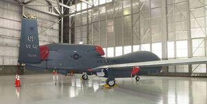 سقوط پهپاد«آر کیو-۴ گلوبال هاوک» نیروی هوایی آمریکا