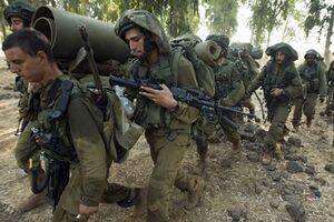 رزمایش نظامی ارتش رژیم صهیونیستی در نزدیکی نوار غزه - کراپشده