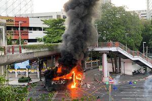 عکس/ تظاهرات ضد دولتی در تایلند