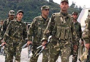 کشته شدن ۲۵ نظامی الجزایر بر اثر آتشسوزی
