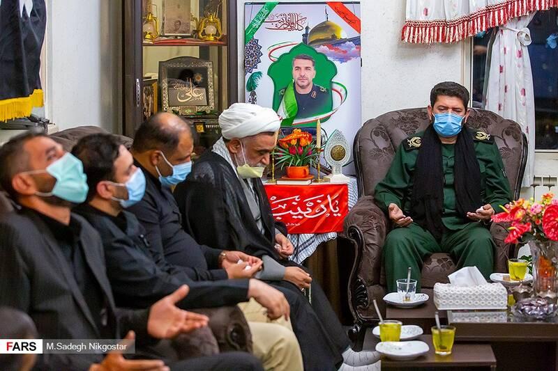 اعلام خبر بازگشت پیکر مطهر سردار شهید رضا فرزانه پس از۶ سال به خانواده وی