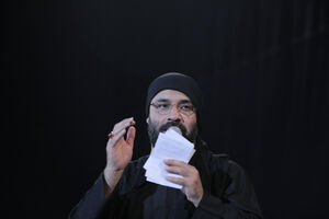 عکس/ شب اول محرم در هیئت الرضا (ع)