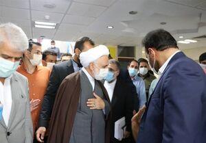 بازدید رئیس دستگاهقضا از بیمارستان امامخمینی(ره) کرج