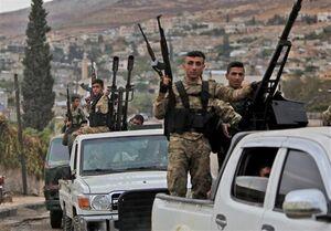 زخمی شدن ۴ سرباز سوری بر اثر تیراندازی افراد مسلح تحت حمایت ترکیه