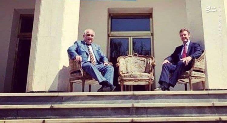 واکنش ده نمکی به عکس جنجالی سفیر روسیه و انگلیس
