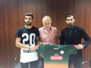 هجوم بازیکنان ایرانی به فوتبال ترکیه