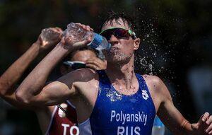 دوپینگ ورزشکار سهگانه روس در المپیک مثبت شد