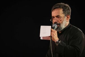 فیلم/ نوحه جانسوز امام حسن(ع) با نوای حاج محمود کریمی