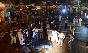 انفجار در کراچی پاکستان ۱۰ کشته برجای گذاشت
