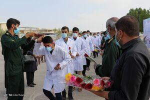 عکس/ اعزام پزشکان و پرستاران سپاه به هرمزگان