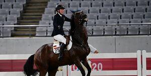 ادامه تبعات مشت زدن به اسب در المپیک