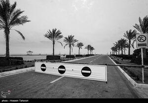 عکس/ ساحل کیش در روزهای سیاه کرونا