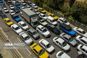 خروج ۱۲۱ هزار خودرو از استان تهران قبل از محدودیتها