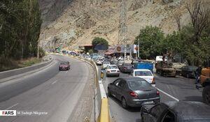 فیلم/ اولین روز ممنوعیت تردد در محور تهران - شمال