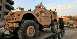 حمله به کاروان نظامیان تروریست آمریکایی در عراق