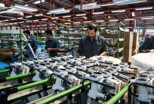 کمترین نرخ رشد تولید صنعت در یکسال گذشته