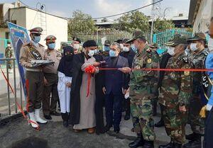 افتتاح داروخانه اختصاصی بیماران کرونایی توسط ارتش +عکس