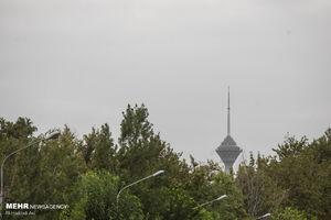 هوای تهران برای هفتمین روز متوالی سالم است