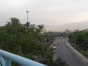 وضعیت ترافیکی خیابانهای پایتخت در تعطیلات