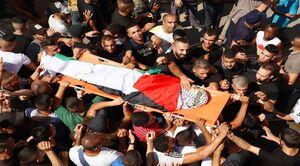 فراخوان برای اعتصاب فراگیر در کرانه باختری +عکس