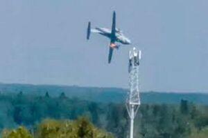جزئیات حادثه سقوط هواپیمای نظامی روسیه در مسکو اعلام شد