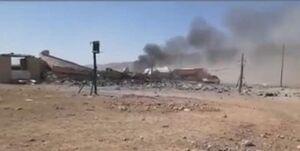 حملات هوایی ترکیه به نیروهای حشد الشعبی در سنجار عراق +فیلم